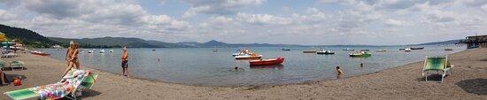 Province of Rome, Italy: Lago di Bracciano: stabilimento balneare