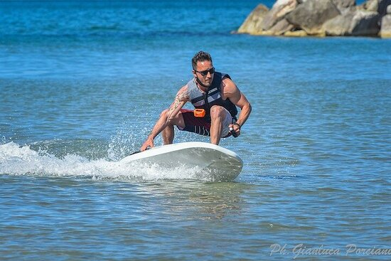 Jetsurf experience in San Benedetto del Tronto