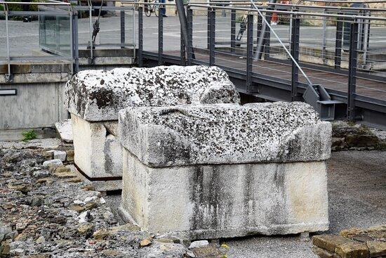 Grado, Italia: Sarcofagi