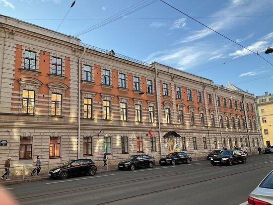 The building of the Women's Handicraft Economic School A.G. Yeliseyev