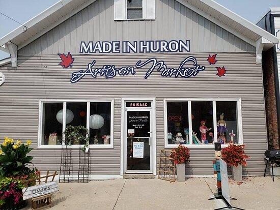 Made in Huron Artisan Market