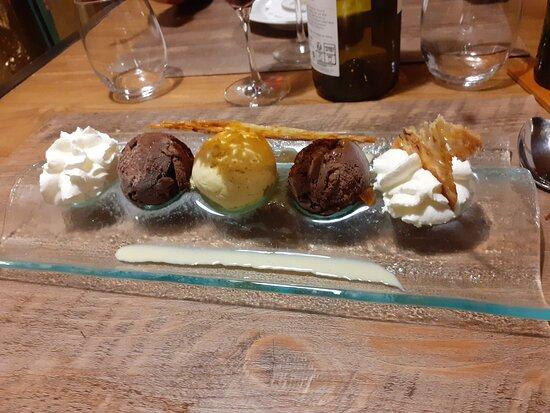 Redon, Frankrike: dessert
