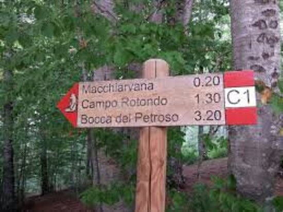 Sentiero D3 Pescasseroli - Macchiarvana