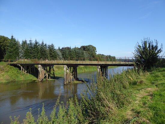 Düenkamper Holzbrücke