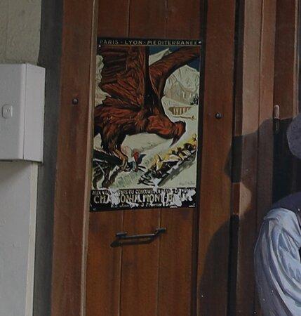 """Fresque """"les Guides De Chamonix"""""""