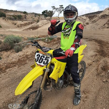 San Miguel de Abona, Spain: Motocross experience