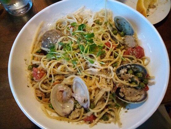 Spruce Head, ME: Linguini and clams