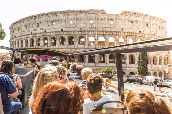 I Love Rome Hop on Hop Off City Tour