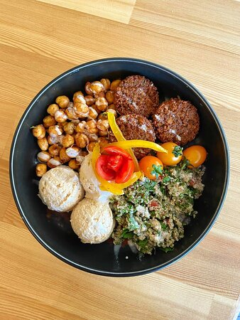 The most delicious Falafel Bowl in Antalya cooked using a secret Lebanese recipe
