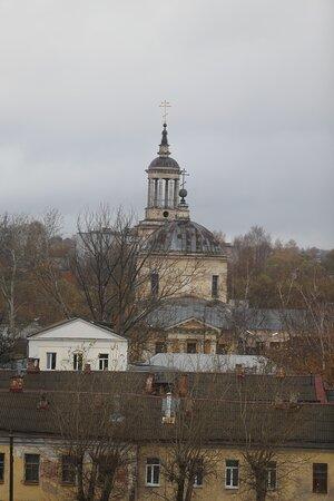 Tver, Nga: Вид на город с Почтовой лестницы