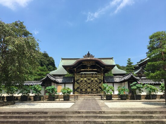 Kencho-ji Temple Karamon