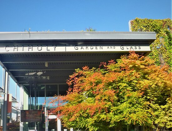 Chihuly Garden and Glass in Seattle: Entrance