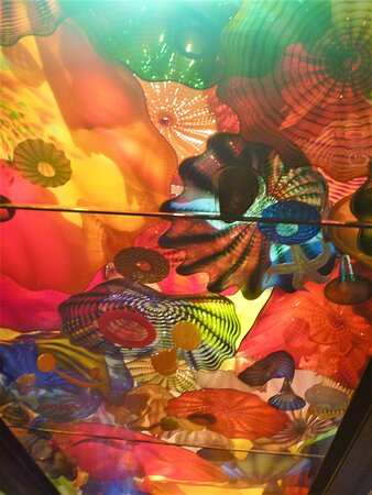 Chihuly Garden and Glass in Seattle: Ceiling