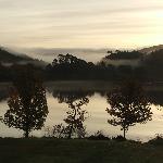 View of Loch Shiel at Dawn