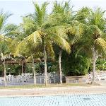 Area kolam renang/pantai