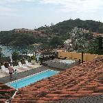الفندق والحدائق
