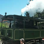 Chiemseebahn, the steam train from Prien to the docks on Lake Chiemsee