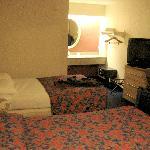 Zimmer des Red Roof Inn