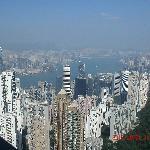 Hong Kong Island Peak Lookout