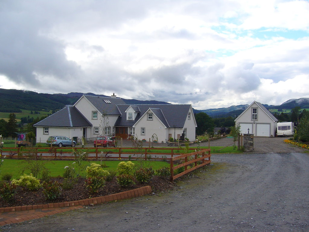 Easter Croftinloan Farmhouse