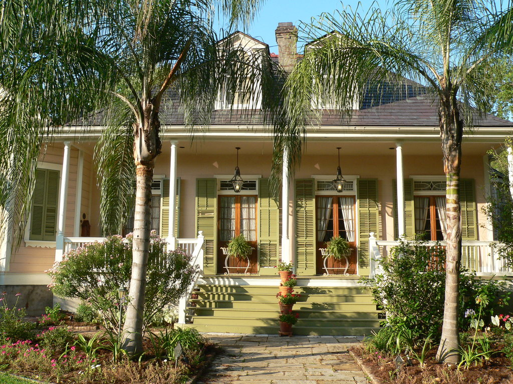 The House on Bayou Road
