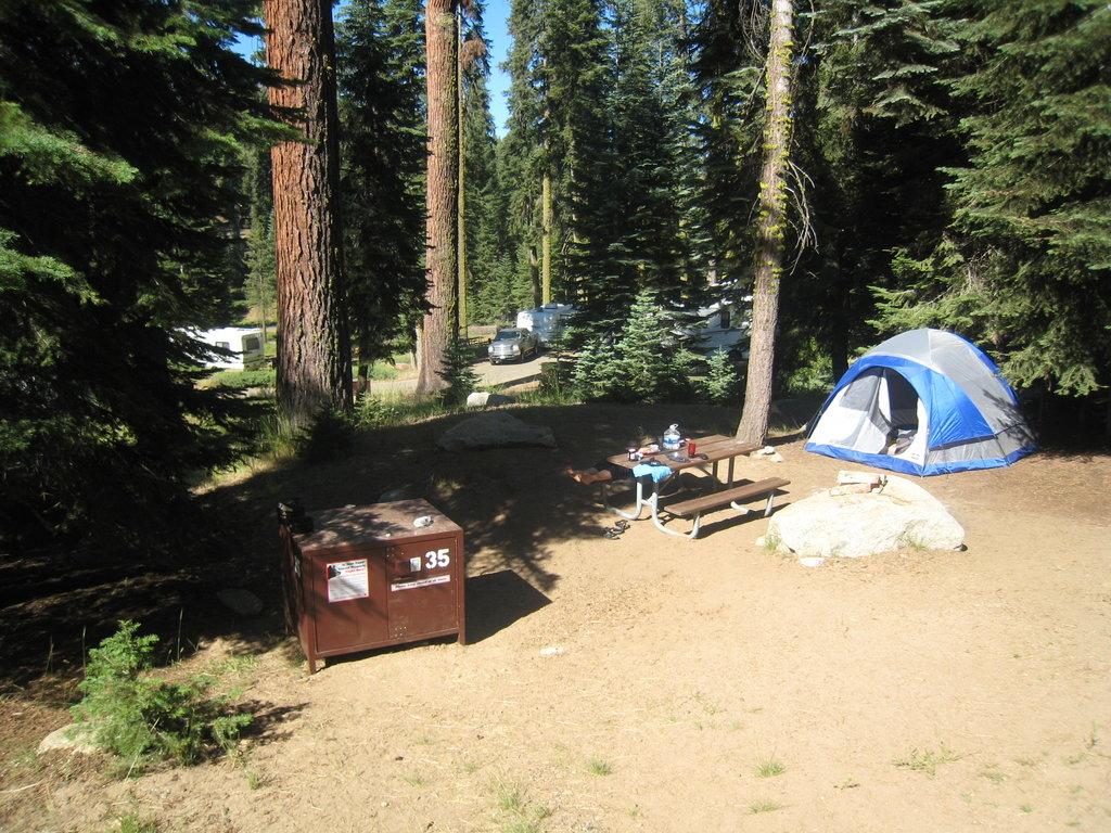 Dorst Campground
