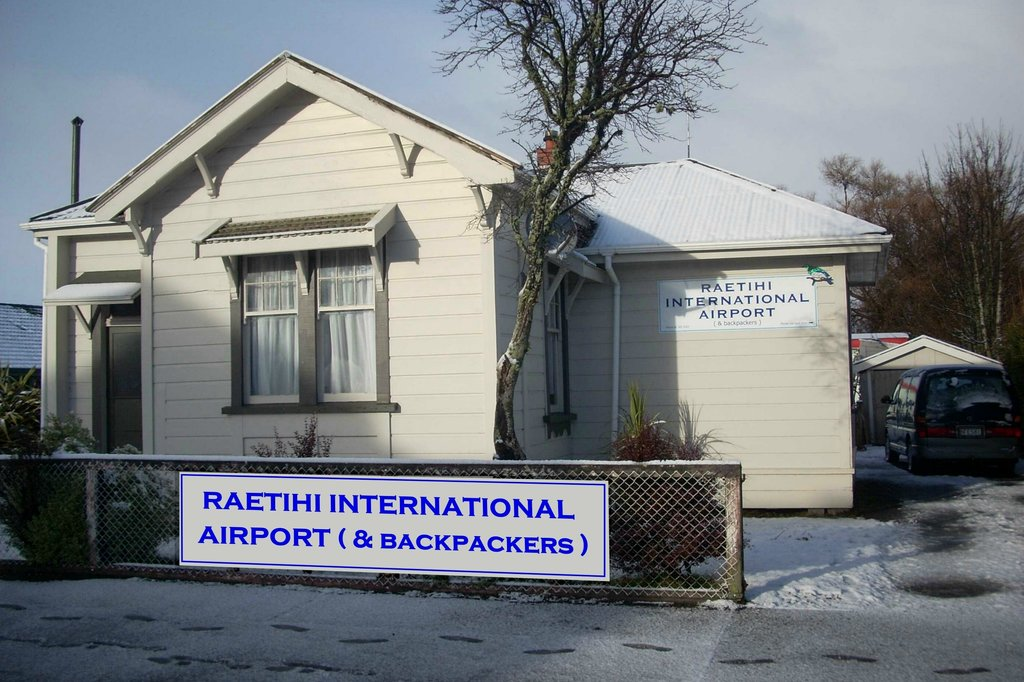 ‪Raetihi International Airport* and Backpackers‬