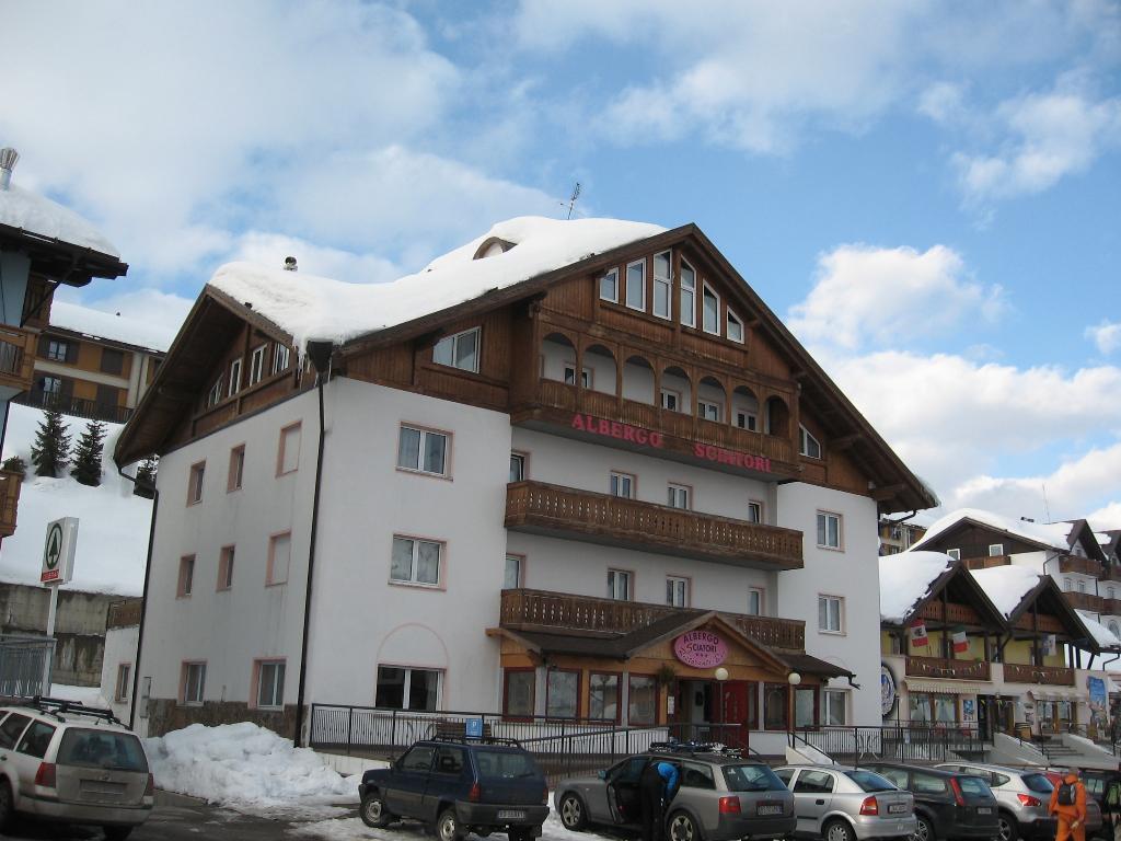 滑雪者飯店