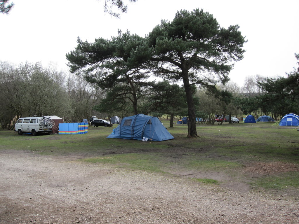 Burnbake Campsite and Forest Lodges