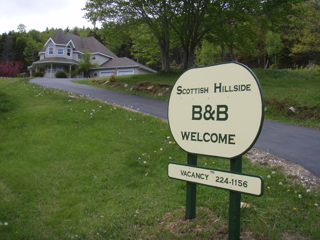 Scottish Hillside B&B