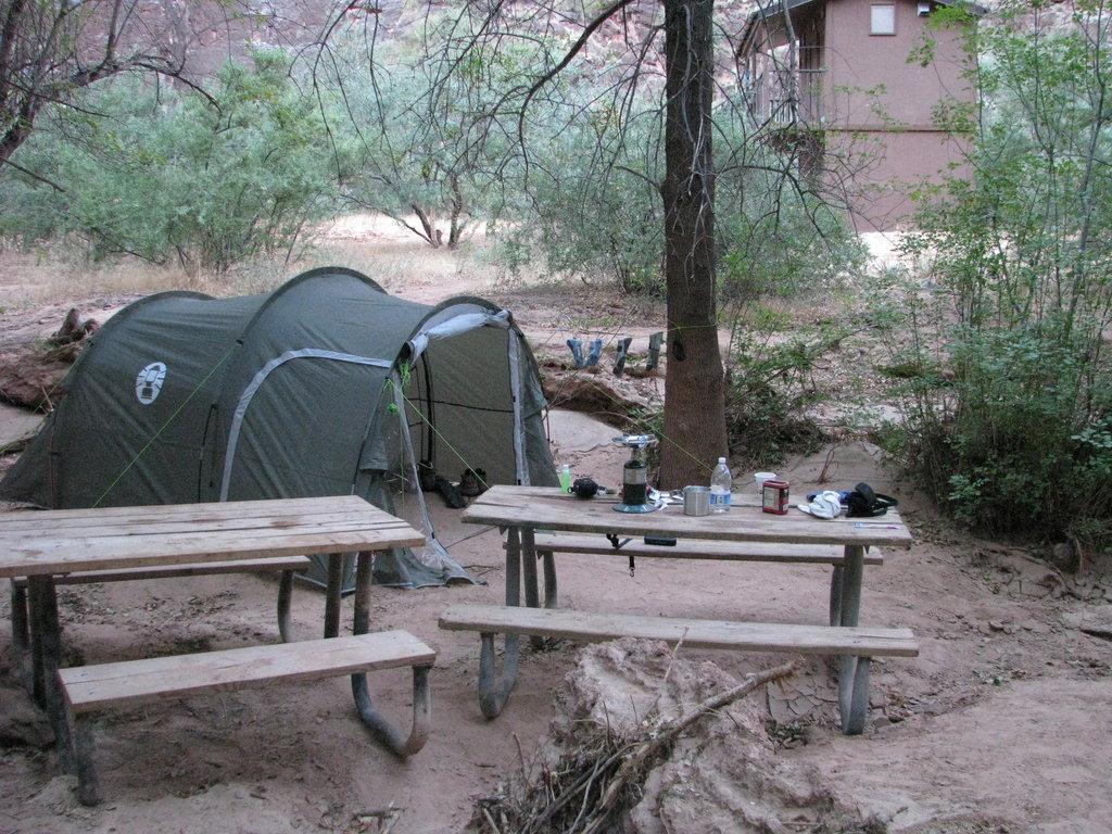 Havasupai Campsite