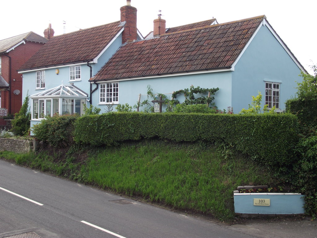 The Old Blue House
