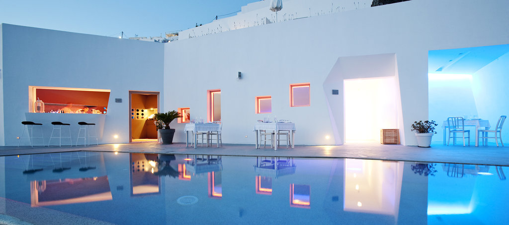 希臘聖托里尼島酒店