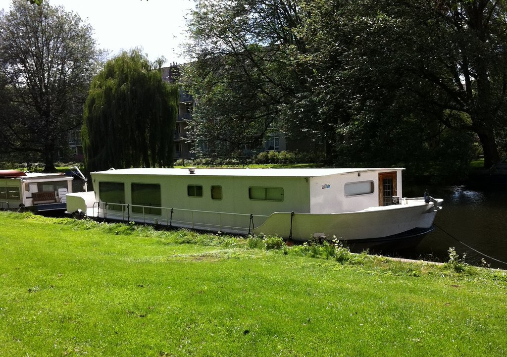 Dutch Canal Boat Hotel