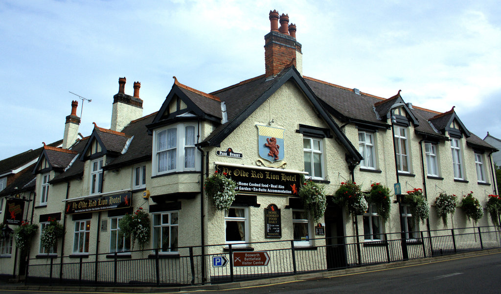 Ye Olde Red Lion Hotel, Market Bosworth
