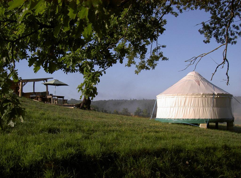 Quirky Camping Yurts