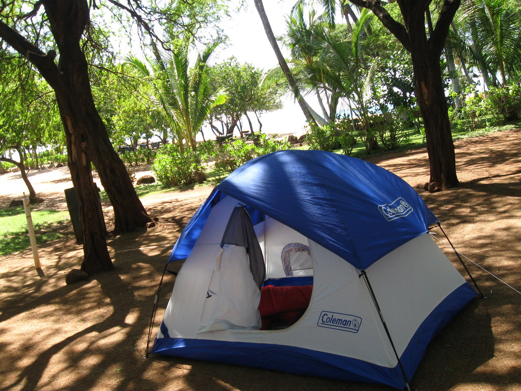 Hulopo'e Bay Campgrounds