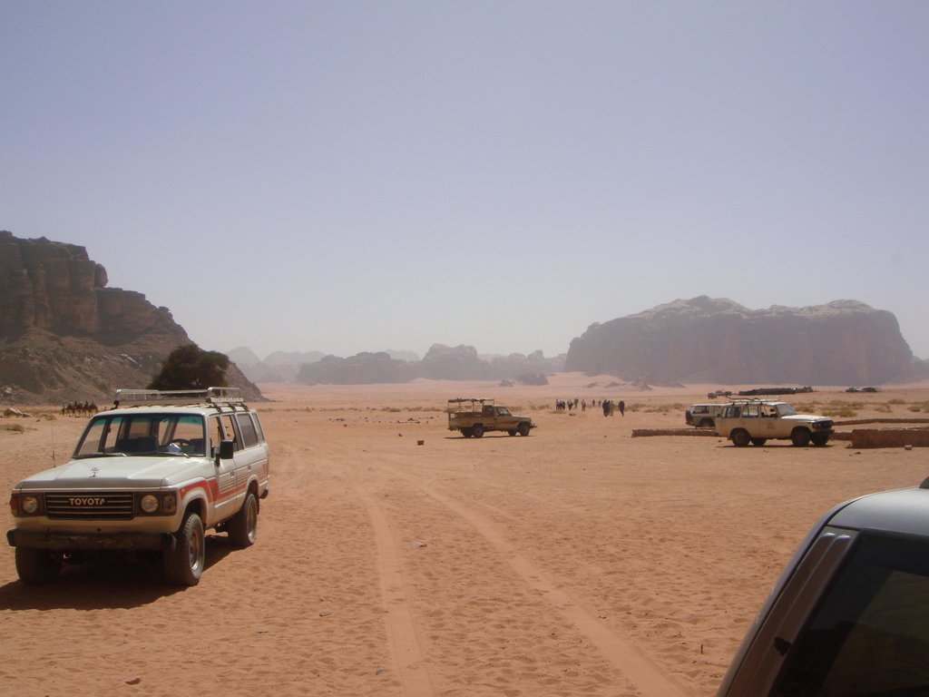 Wadi Rum 7 Pillars Camp