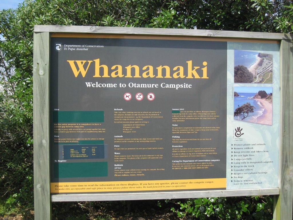 Otamure Bay (Whananaki) Campsite