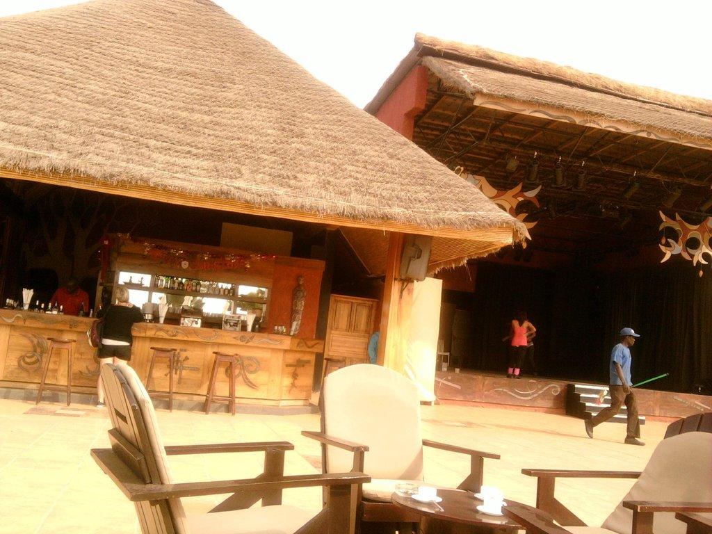 Hotel Le Baobab sur Mer