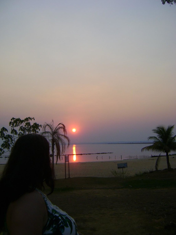 Por do Sol - Praia Graciosa - Palmas - Tocantins