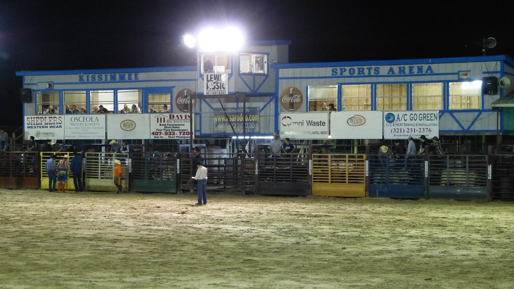 The Kissimmee Sports Arena Rodeo