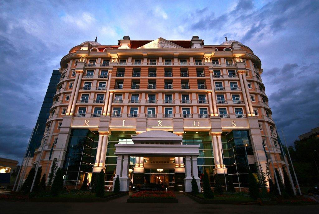 リクソス アルマティー ホテル