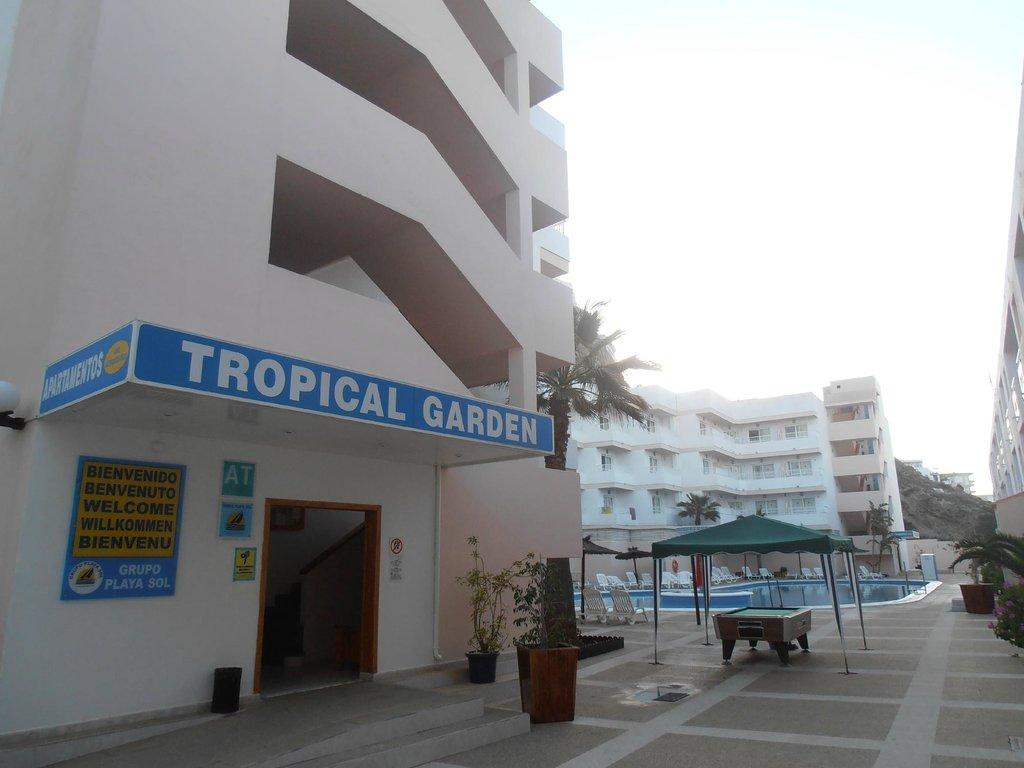 Playasol Apartamentos Tropical Garden