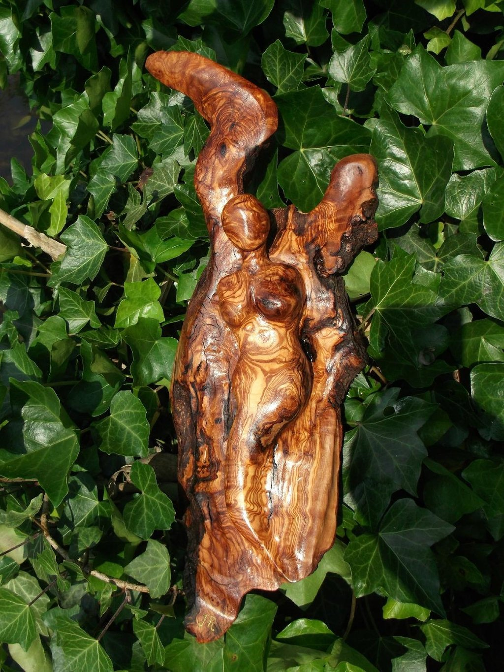 made out of olive wood