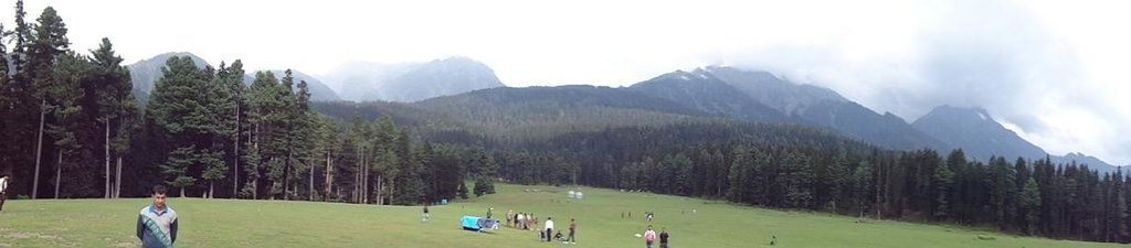 Panorama view of the valley