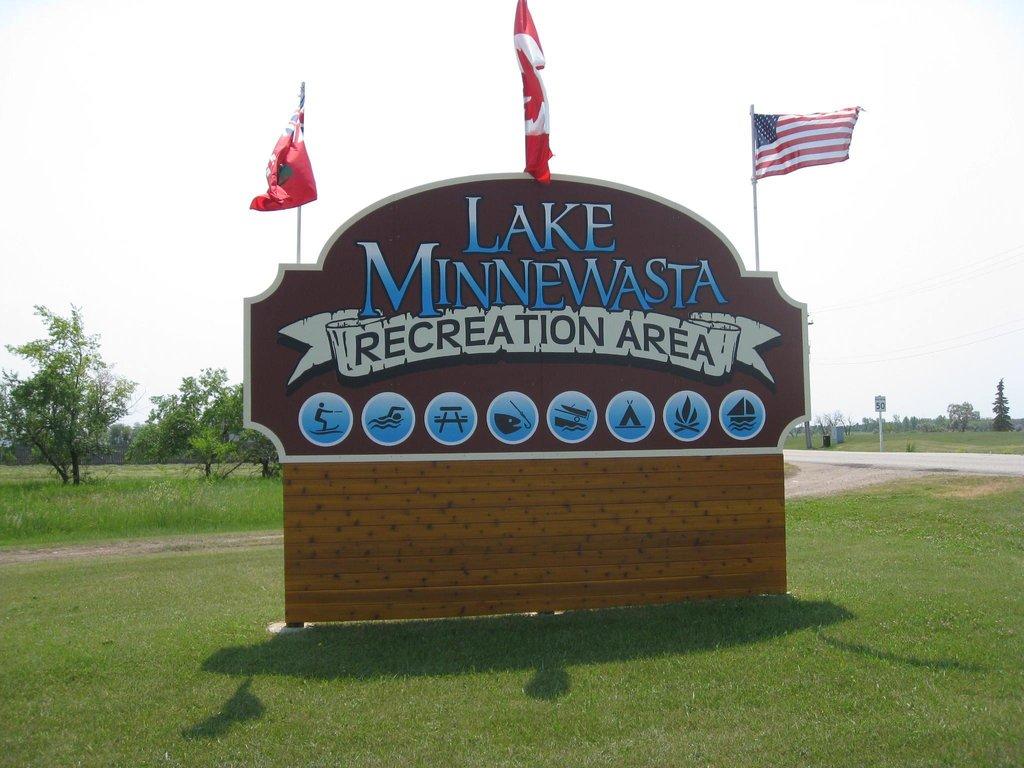 Lake Minnewasta Recreation Area Campground