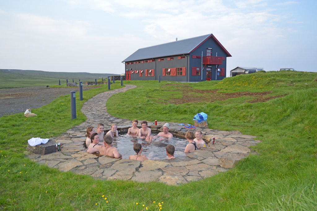 Laugarfell Accommodation & Hot Springs