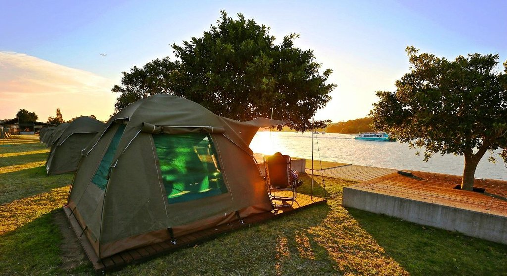 Cockatoo Island Camping
