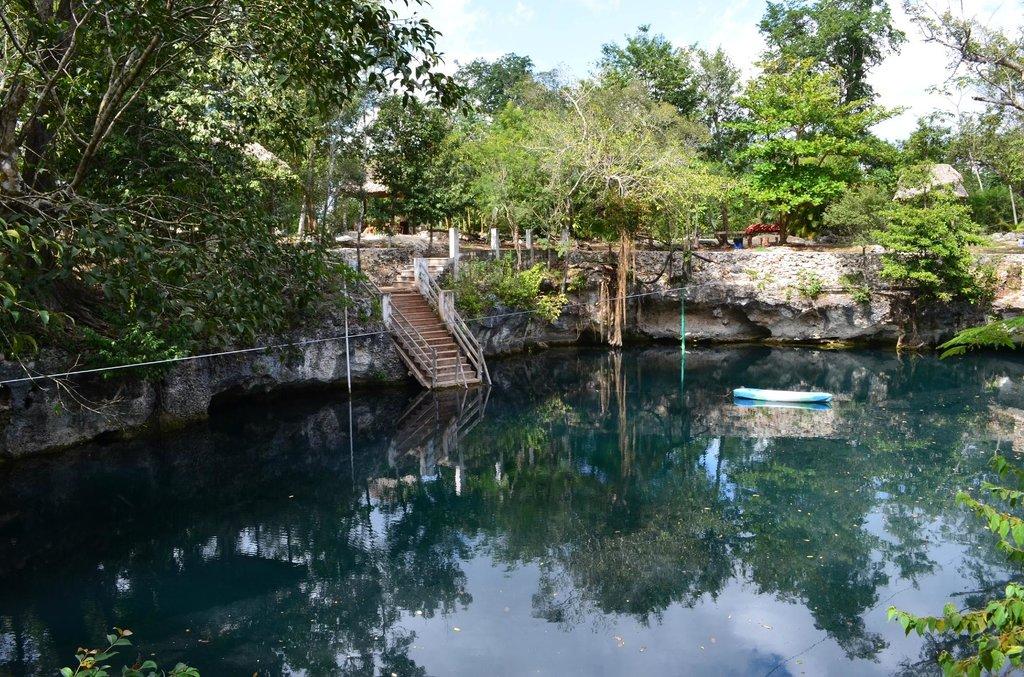 Casa Cenote Popol Vuh